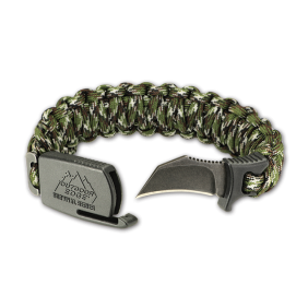 Гривна с нож Para Claw Camo Outdoor Edge