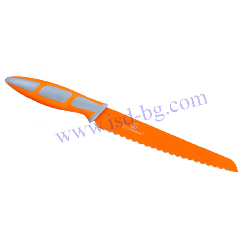 Kitchen knife for bread Orange Kitchen Dao - Kitchen knives and ...