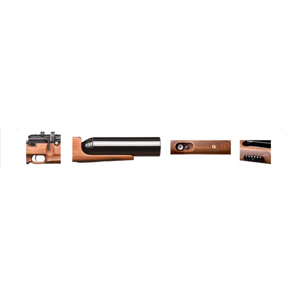 Въздушна пушка кал  5,5 mm Puncher PCP Jumbo Walnut