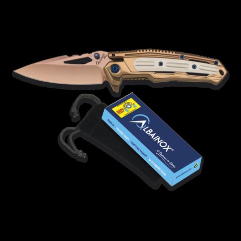 Сгъваем нож Albainox 18353 PLUS titanium