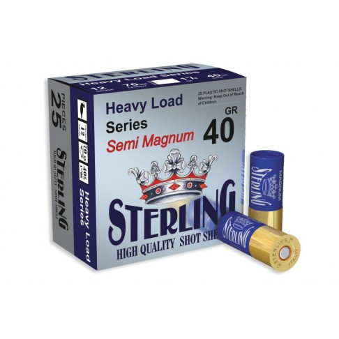Патрони STERLING 12/70 40gr. Semi Magnum 2/0 концентратор