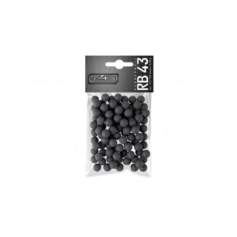 Гумени топчета T4E RB cal. 43 100 бр
