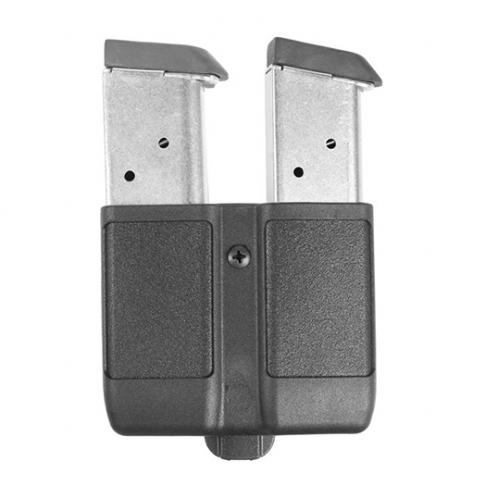 Двоен кобур за едноредов пълнител - 9mm  410510PBK BlackHawk