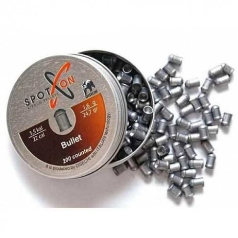 Сачми Spoton 5.5mm Bullet 1.60g 200бр