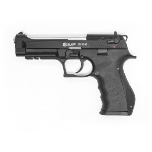 Газов пистолет BLOW TR9202 9mm Mat Black