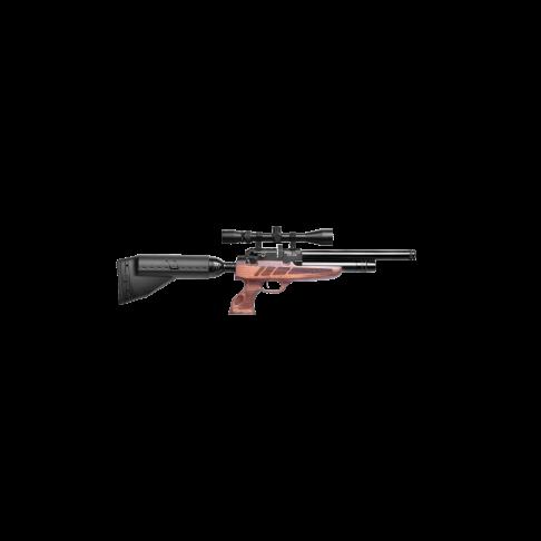 Въздушна пушка KRAL ARMS Puncher PCP NP-04 Auto Walnut cal. 5.5mm