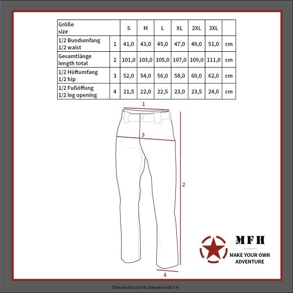 Тактически панталон Stake 01723B Green MFH