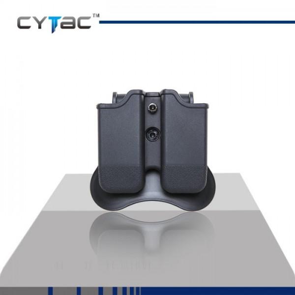Универсален двоен полимерен кобур за пълнител CY-MP-G3 Cytac