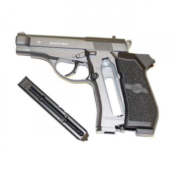 Въздушен пистолет Borner M84 Co2 cal. 4.5mm