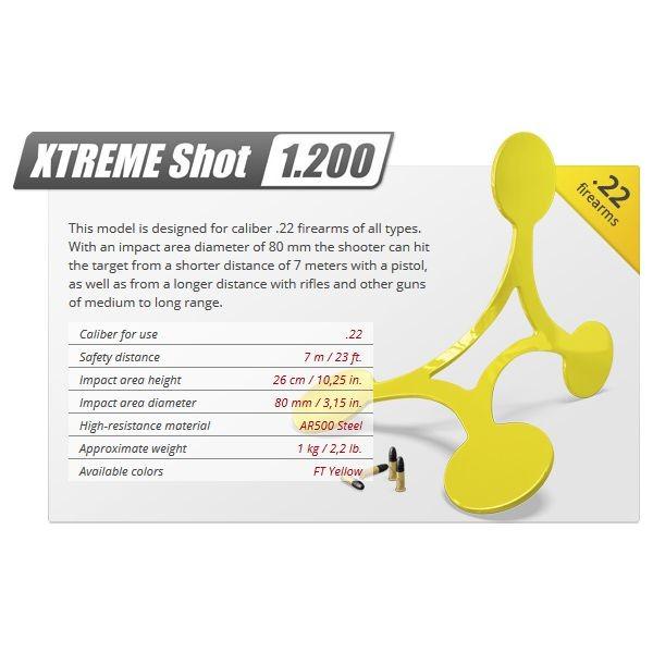 Мишена - XTREME SHOT 1200