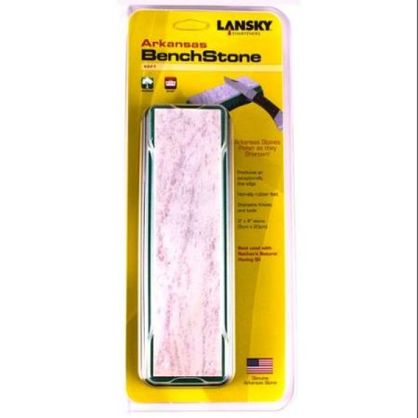 Плот от мек, натурален Арканзаски камък-LBS8S Lansky