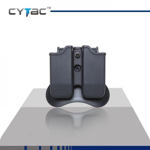 Полимерен двоен кобур за пълнител Beretta CY-MP-P2 Cytac
