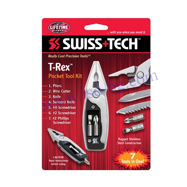 T-Rex джобен комплект инструменти Swiss+Tech