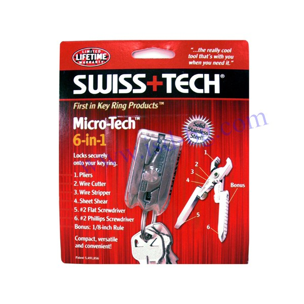 Мултифункционален Micro-Tech™ инструмент 6 в 1 Swiss+Tech