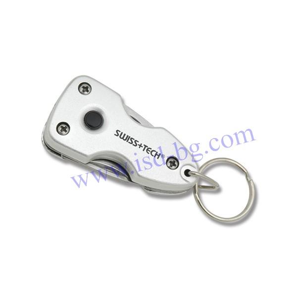 Мултифункционален инструмент Key Ring Multi-Tool 7-в-1 Swiss+Tech