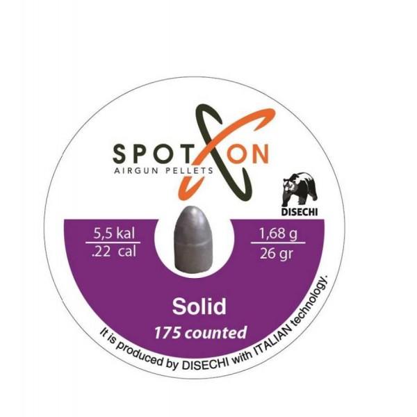 Сачми Spoton 5.5mm Solid 1.68g 175бр