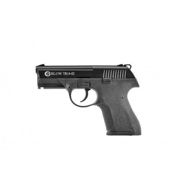 Газов пистолет BLOW 9mm TR1402 Chrome
