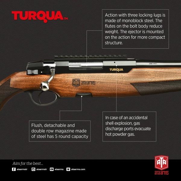 Карабина ATA ARMS TURQUA cal. 308 Win 61cm