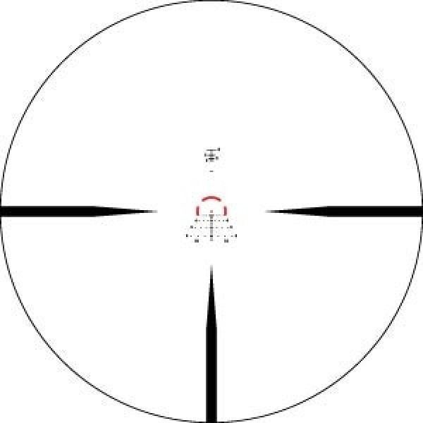 Оптика 1-8x24 Strike Eagle 2 SE-1824-2 AR-BDC3 (MOA) Vortex Optics