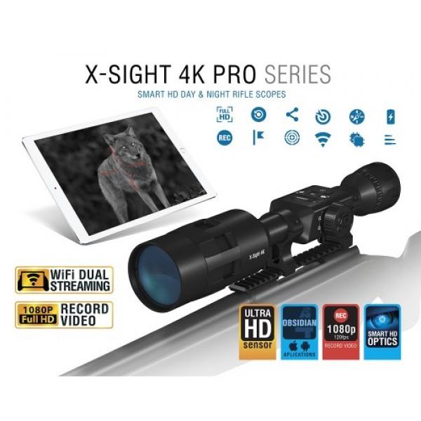 Нощна / Дневна оптика ATN X-Sight 4K 3-14x Pro Edition