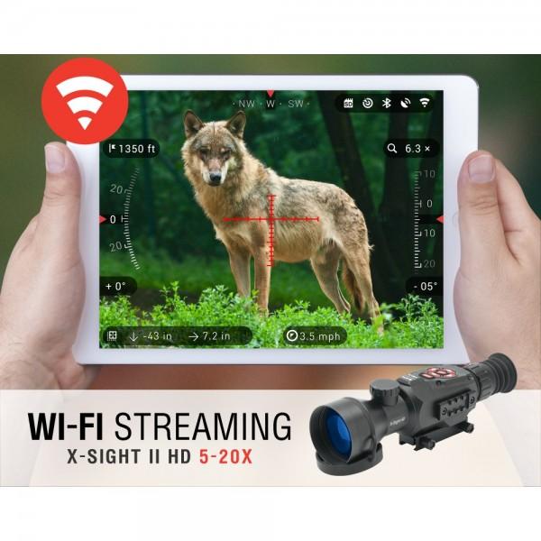Нощна / дневна оптика ATN X-Sight II HD 3-14x Smart