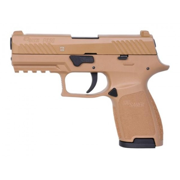 Газов пистолет Sig Sauer P320 Dark Earth 9mm PAK
