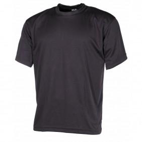 Тениска Tactical черна MFH