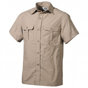 Риза с къс ръкав 020303F Outdoor Shirt khaki Fox Outdoor