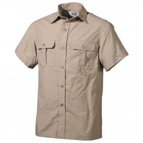 Риза с къс ръкав 020303F Outdoor Shirt khaki Fox Outdoor