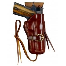 """Кожен кобур за револвери Cheyenne Western 2-6.5"""" Triple-K"""