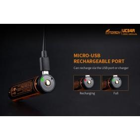 Акумулаторна батерия 18650 3400mah Fitorch UC34R