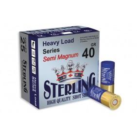 Патрони STERLING 12/70 40gr. Semi Magnum 4/0 концентратор