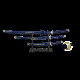 Комплект мечове Катана модел 31515-AZ TOLE10
