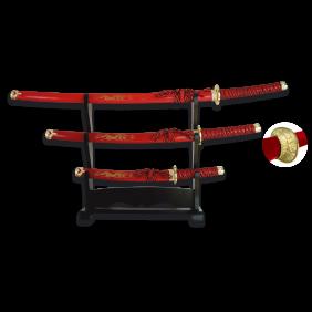 Комплект мечове Катана модел 31515-RO TOLE10