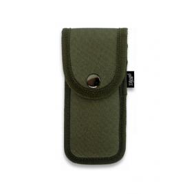Кания за нож, синтетика  34042 - зелена 15х7 cm Dingo