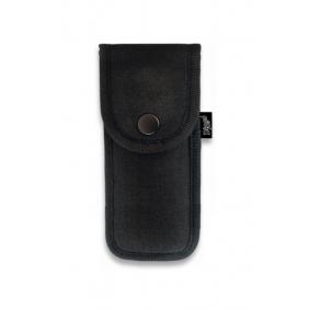 Кания за нож, синтетика  34043 - черна 15х7 cm Dingo