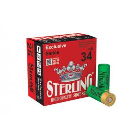Патрони STERLING 12/70 34 gr. №2/0 концентратор