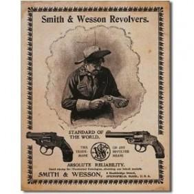 Метален постер Smith&Wesson
