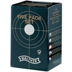 Сачми тип чашка Walther Five Рack Set – 4,5 mm (.177)