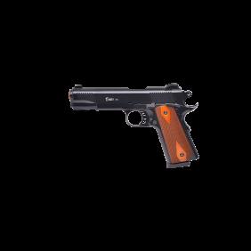 Газов пистолет 9mm PAK Kuzey Arms 911 Black wooden grip
