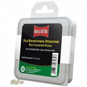Тампони за почистване на цевта cal. 308, 30-06, 30, 7,5mm, 7,62mm Ballistol Klassik