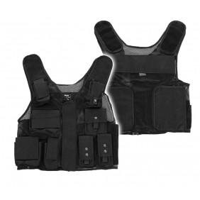Тактическа жилетка Black SWAT Texar