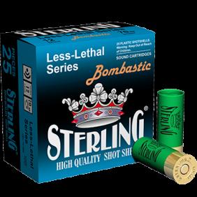 Халосни гладкоцевни патрони STERLING 2 BOMBASTIC 12/70
