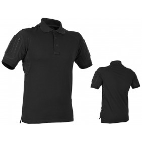 Тениска Polo Elite Pro Black Texar