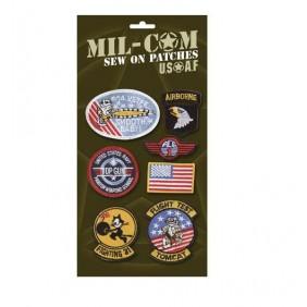 Комплект емблеми за дрехи Mil-Сom