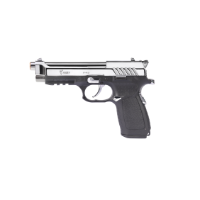 Газов пистолет 9mm PAK Kuzey Arms F-92 Black/White