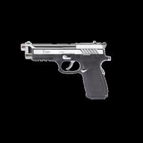 Газов пистолет 9mm PAK Kuzey Arms F-92 Black/White