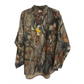 Риза - дълъг ръкав Hardwood Grey Camo 2XL