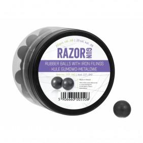 Гумено метални топчета RazorGun cal. 68 за Umarex T4E 20бр.
