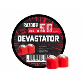 Метални топчета cal. 50 RazorGun Devastator Steel Core 60бр.